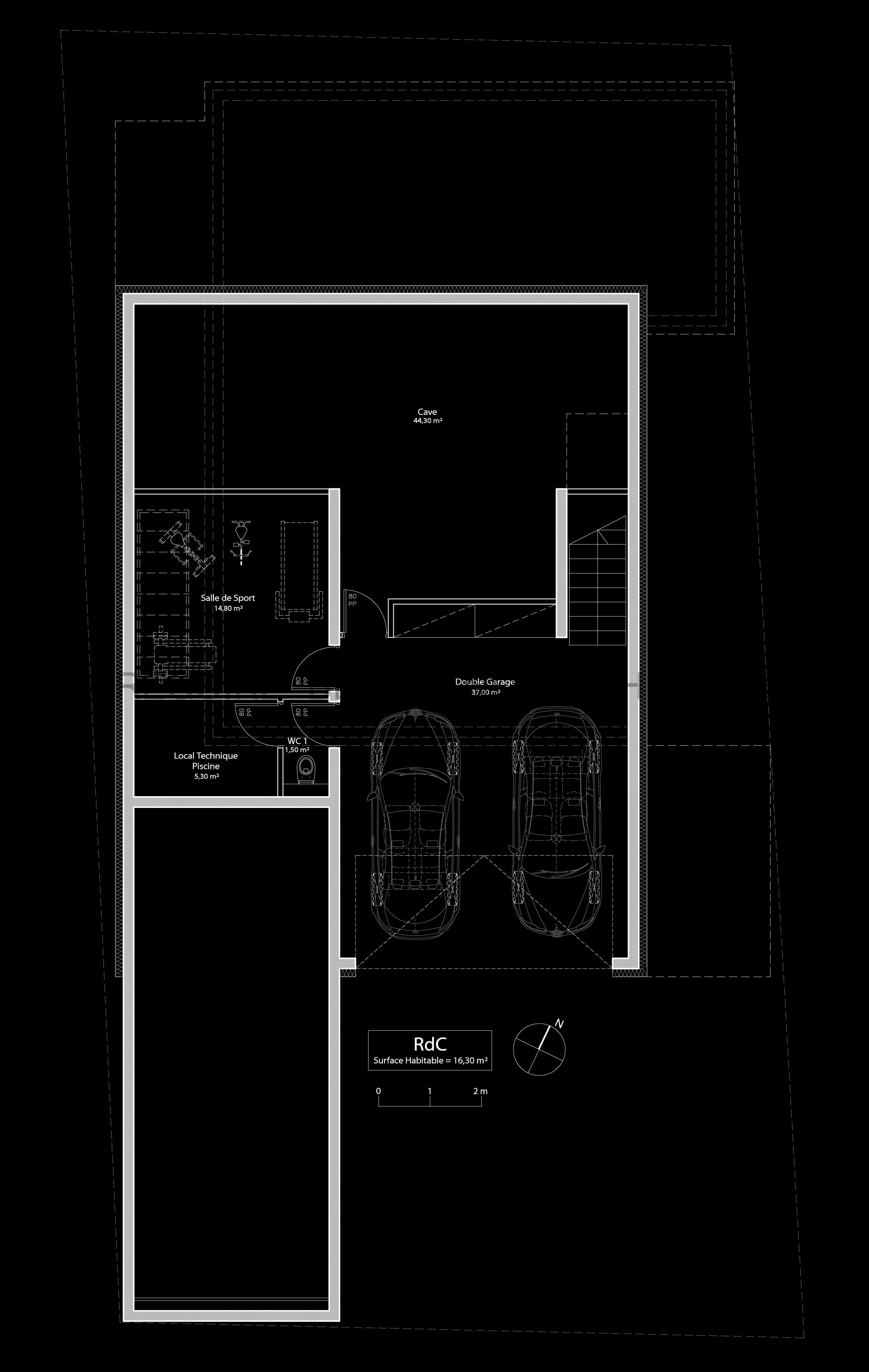 2017 01 28 (2015-010) 008 - Plans - RdC